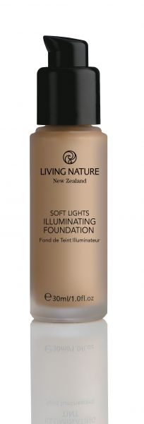 Living Nature schimmerndes Make Up EVENING GLOW, 30ml
