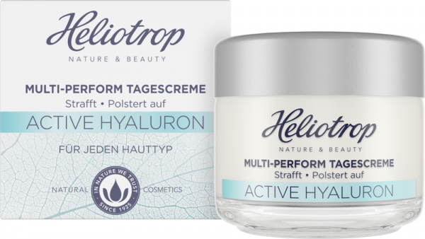 Heliotrop ACTIVE HYALURON Multi Perform Tagescreme, 50ml