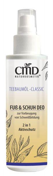 CMD Teebaumöl Fuss & Schuh Deo, 100ml