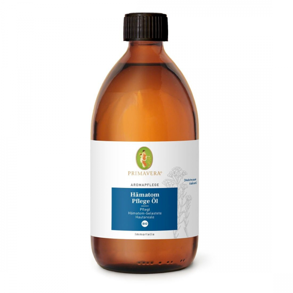 PRIMAVERA Aromapflege Hämatom Pflege Öl, 500ml ehemals Akut-Einreibungsöl
