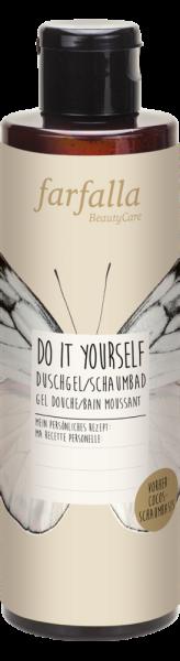 Farfalla Do it yourself, Cocos Duschgel/Schaumbad, 200ml