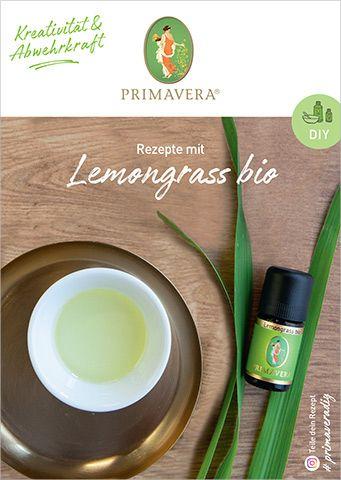 PRIMAVERA DIY Rezeptkarte Lemongrass bio