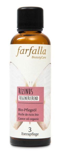 Farfalla Rizinus, Bio-Pflegeöl, 75ml, regenerierend