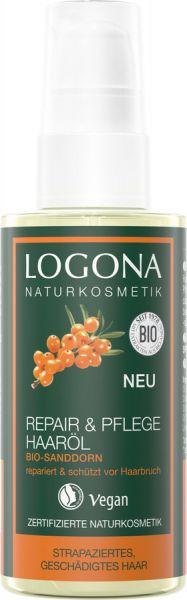 LOGONA Repair & Pflege Haaröl Bio-Sanddorn, 75ml