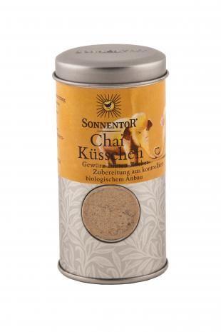 SONNENTOR Chai Küsschen Gewürz-Blüten-Zubereitung kbA, Streudose 70g