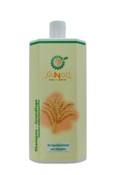 SANOLL Shampoo - Grundlage1000ml Vormals Shampoo & Duschbad Basis