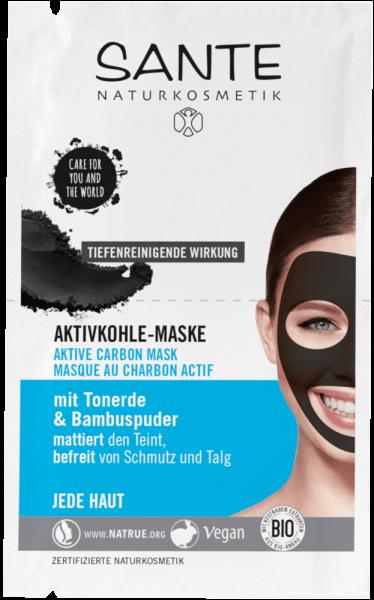 SANTE Aktivkohle Maske, 2 x 4ml