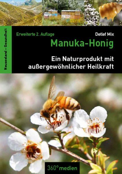 """Buch """"Manuka-Honig"""" - Erweiterte 2. Auflage von Detlef Mix 216 Seiten"""