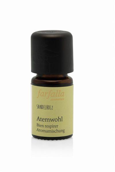 Farfalla bleib gesund, Atemwohl Aromamischung, 5ml