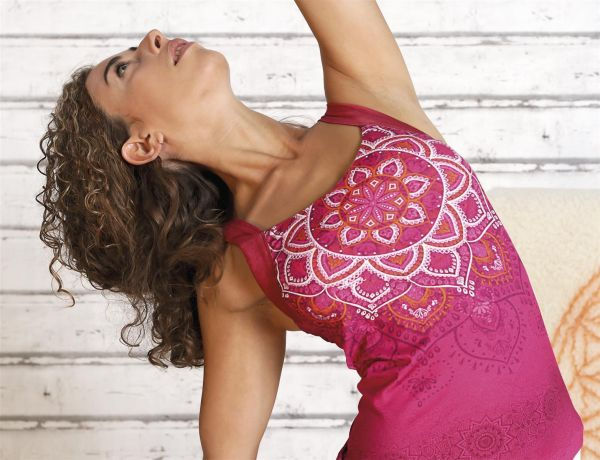 The Spirit of OM Yoga Top Chakra in 4 verschiedenen Farben