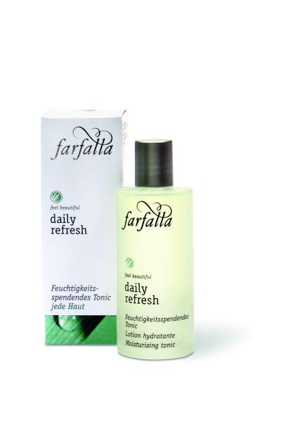 farfalla Daily Refresh, Feuchtigkeitsspendendes Tonic 80ml