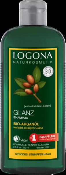 LOGONA Glanz Shampoo Bio-Arganöl, 250ml