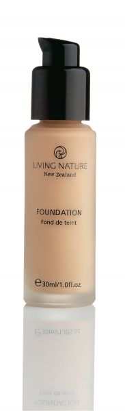Living Nature FOUNDATION PURE SAND, 30ml