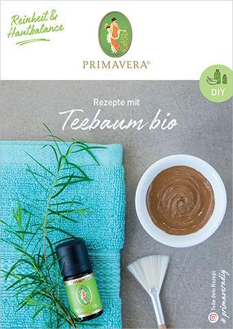 PRIMAVERA DIY Rezeptkarte Teebaum bio