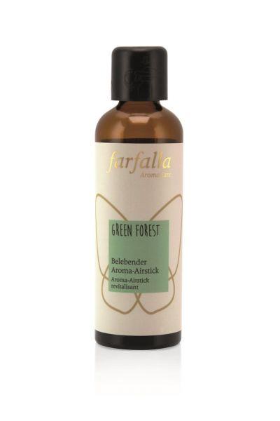 Farfalla Aroma-Airstick Green Forest, Nachfüllflasche, 75ml
