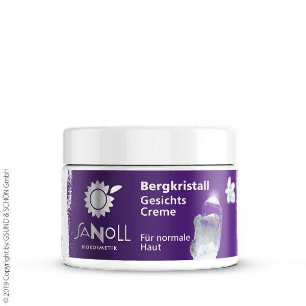 SANOLL Bergkristall Gesichtscreme, für normale Haut 50ml
