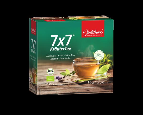 P. Jentschura 7x7 Kräutertee 50 Teebeutel à 1,75g