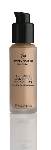 Living Nature schimmerndes Make Up DAWN GLOW, 30ml