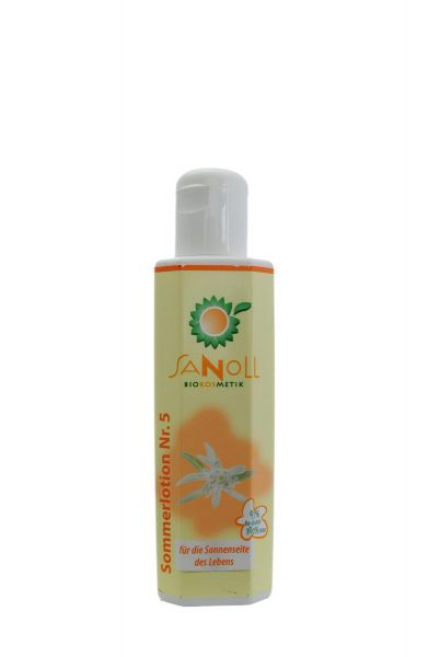 SANOLL Sommerlotion - Nr. 5 150ml