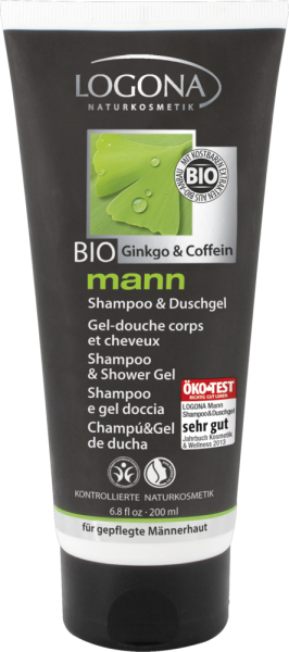 LOGONA mann Shampoo & Duschgel, 200ml